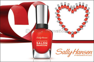 """Sally Hansen – """"New Flame"""", The Color of Love"""