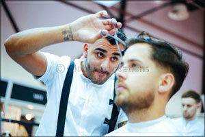 UAEs finest barbers square off in live competition at Beautyworld Middle East 2017