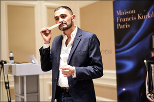 Maison Francis Kurkdjian Launches 'Oud Satin Mood Extrait de Parfum at Paris Gallery