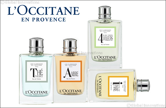 Pamper Your Loved Ones This Ramadan With Les Classiques Fragrances, a Timeless Collection by L'OCCITANE