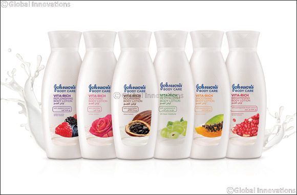 Combat Dry Skin this Summer with JOHNSON'S® Vita-Rich Nourishing Body Lotions enriched with Natural Ingredients