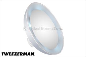 Tweezermans new must-have LED Mini Mirror in every beauty bag