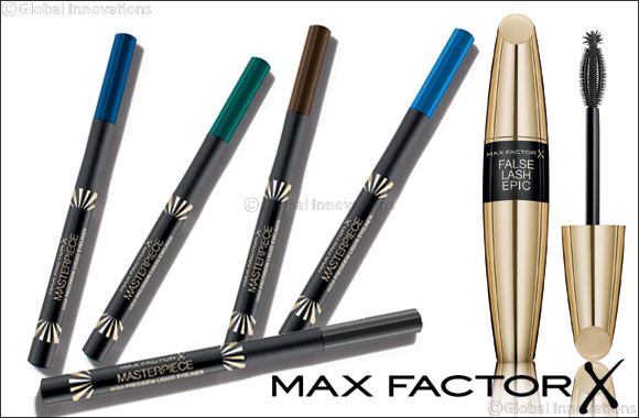 Inspired by Make-Up Artists; Introducing Max Factor False Lash Epic Mascara and Masterpiece High Precision Liquid Eyeliner, for a Glamorous Eid Look