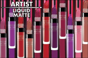 Make a Statement with MAKE UP FOR EVERs New Artist Liquid Matte Lipsticks