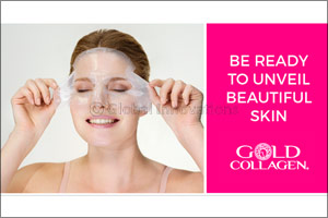 Gold Collagen� Hydrogel Mask with Second Skin Technology to Launch in Dubai in July 2017  From the Pioneers of Liquid Beauty Supplements