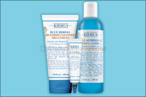 True Blue: Kiehls Beloved Blue Herbal Formula Continues 50 Year Crusade Against Acne