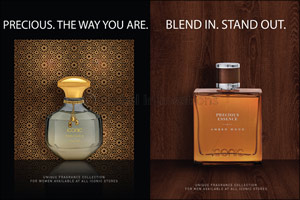 ICONIC launches the PRECIOUS perfume line