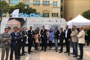 Galdermas �Leave Your Mark� Mobile Clinic heightens awareness of skin diseases amongst youth