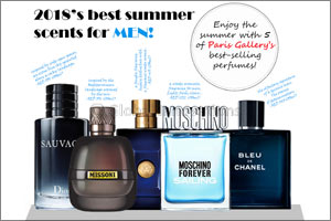 Best-selling Summer Perfumes for Men & Women at Paris Gallery