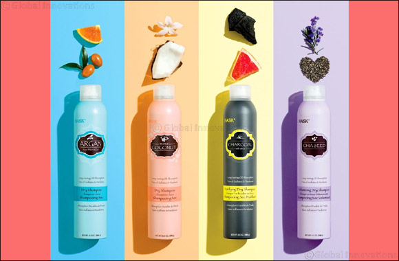 Instantly Refreshed Hair with HASK