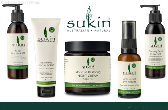 Australia's No. 1 Natural Skincare Brand* Sukin Skincare Launches in the UAE