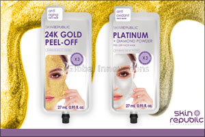 Defying Age With Skin Republics Gold and Platinum Face Masks