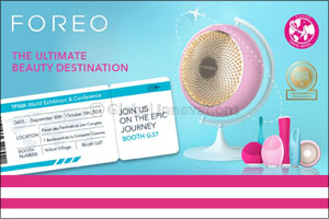 FOREO To Attend TFWA: the Worlds Largest Travel Retail Show