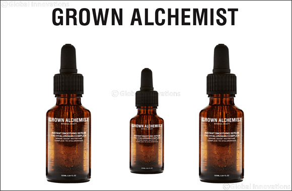 Get instantly firm and hydrated skin with Grown Alchemist's new Instant Smoothing Serum