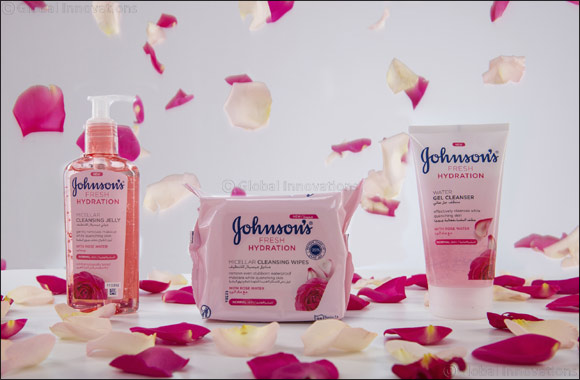 Johnson's launches Fresh Hydration Range – Cleansed, hydrated skin in just #OneSwipe