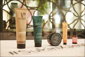 Jessica Kahawaty in Dubai to Celebrate the Launch of SUKIN, Australias No.1 Natural Skincare Brand