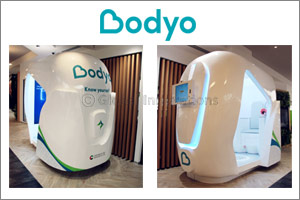 BodyO launches officially its AiPod for a full body check-up during the Gitex Future Stars