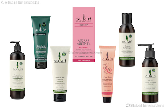 Sukin's Top Holiday Picks for a Supple-Skin Winter Season
