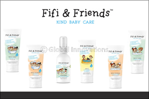 Everyday care for your babys hair with Fifi & Friends!