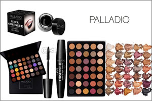 Add a festive sparkle to your eyes with Palladio Beauty