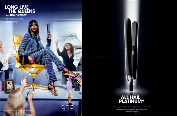 ghd unveils platinum+, a revolutionary smart styler that predicts your hair's needs