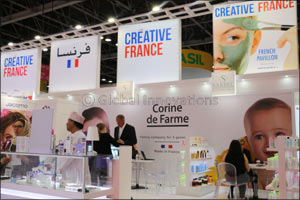A major presence of the French cosmetics industry at Beauty World Middle East in Dubai from April 15 to 17 2019