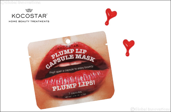 Get Instantly plump and luscious lips with Kocostar's Plump Lips Capsule Mask