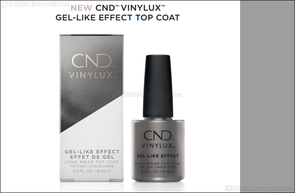 New CND™ Vinylux™ Gel-Like Effect Top Coat