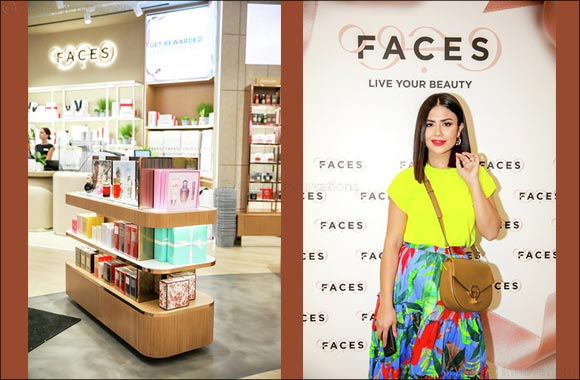 Faces launches Next Generation stores in Mall of the Emirates, Dubai and Riyadh Park, Saudi Arabia