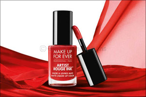 Ink Your Lips This Summer With Artist Rouge Ink, Make Up for Evers New Airlightlip Color