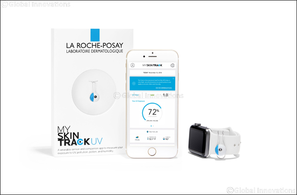 La Roche-posay Presents an Incomparable Skincare Experience With 'My Skin Track UV;' the World's First Battery-free Wearable Sun Safety Sensor