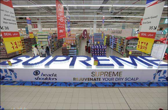 Head & Shoulders and Carrefour Set Guinness World Record to Mark the Launch of Supreme Scalp Care Range