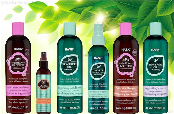 Get Great Hair Naturally With HASK's Latest Haircare Collections This Spring!