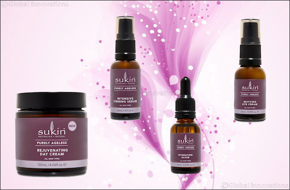 Sukin® Purely Ageless Range
