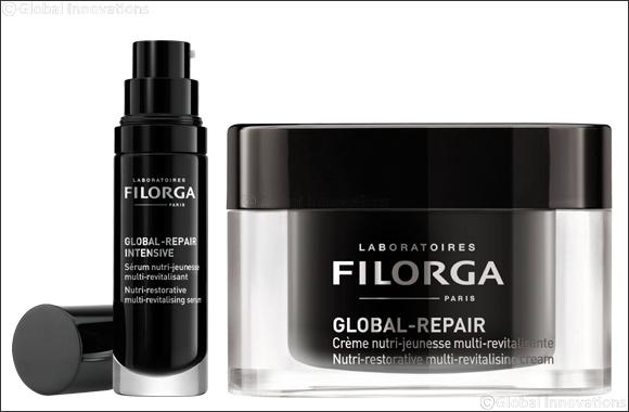 Supreme Anti-Ageing Skincare with  FILORGA's GLOBAL-REPAIR Range