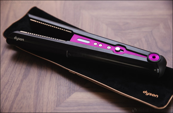 Introducing the Dyson CorraleTM the Only Hair Straightener with Flexing Plate Technology, in UAE and KSA