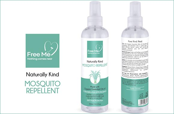 Free Me – The First Naturally Kind Mosquito Repellent Made in the UAE
