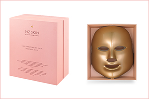 MZ Skin Revolutionary Light Therapy Gold Facial Device  Now Available in Bloomingdales!