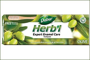Dabur Herbl Launches Olive Based Anti-oxidant Rich, Anti-bacterial Herbal Toothpaste That Provides Expert Enamel Care