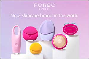FOREO Declared Top 3 Most Popular Skincare Brand in The World