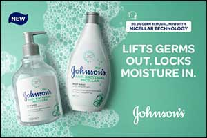 Johnsons Powerful New Micellar Anti-Bacterial Wash Range Removes 99.9% of Germs From Hands and Body While Protecting Skin From Dryness